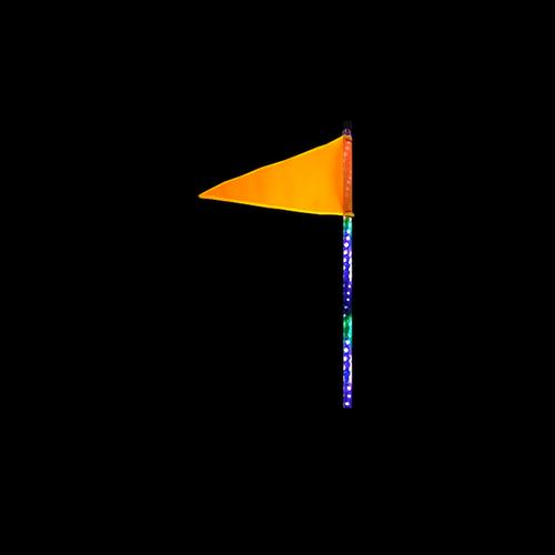 2 Foot HD RGB LED Light Whip Single Quake LED
