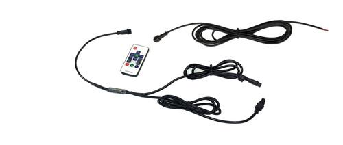 HD RGB Whip Dual 316 Effects RF Controller 11 Inch Power Side Quake LED