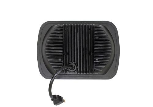 5x7 Inch Headlight 39 Watt High/Low Jeep YJ/XJ Tempest Series Quake LED
