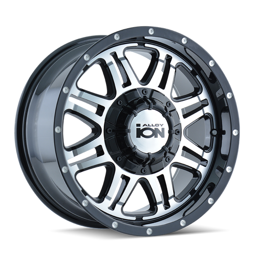 ION | 186 186) BLACK/MACHINED FACE