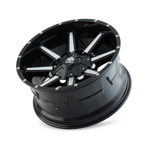 MAYHEM | ARSENAL 8104) GLOSS BLACK/MACHINED FACE