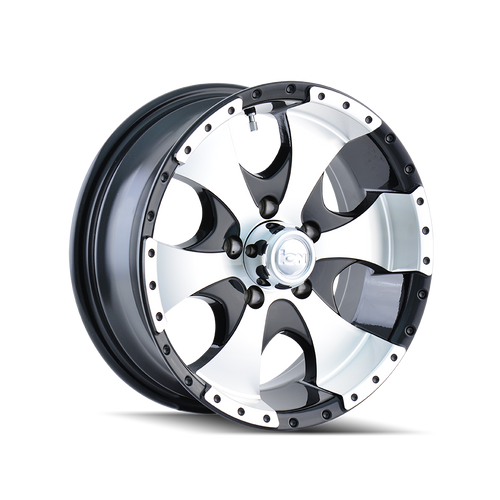 ION TRAILER | 136 136) BLACK/MACHINED FACE/MACHINED LIP