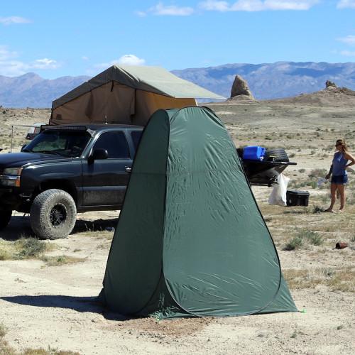 Portable Outdoor Toilet Tent Tuff Stuff Overland