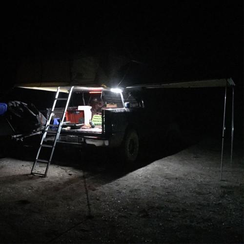 LED Light Strip 12v for Rooftop Tent Amber/White Tuff Stuff Overland