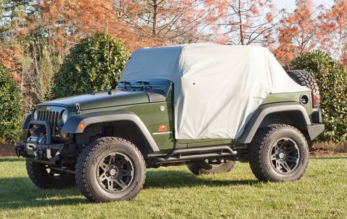 Weather-Lite Cab Cover; 07-19 Jeep Wrangler JK/JL, 2 Door | Rugged Ridge