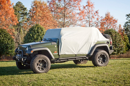 Weather-Lite Cab Cover; 07-19 Jeep Wrangler JK/JL, 4 Door | Rugged Ridge