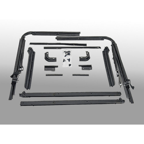 Soft Top Hardware Kit, Factory Replacement; 87-95 Jeep Wrangler YJ | Rugged Ridge