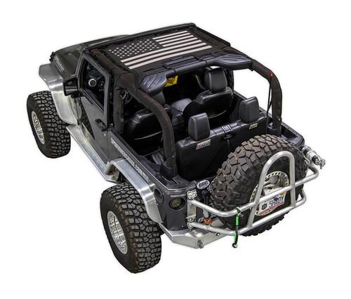 SpiderWeb Shade Jeep JK 07-18 JKINI Tactical Flag Solid