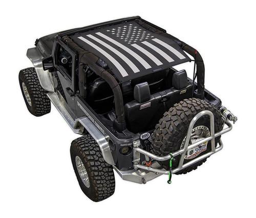 SpiderWeb Shade Jeep JK 2D Tactical Flag Solid