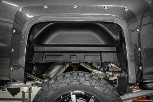Chevrolet Rear Wheel Well Liners 15-19 2500HD/3500HD PU)