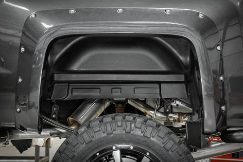 GMC Rear Wheel Well Liners 14-19 Sierra Pickup)