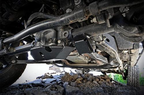 Jeep Front Control Arm Skid Plates 07-18 Wrangler JK)