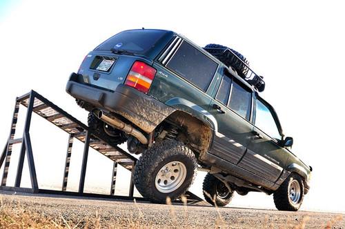 4in Jeep Long Arm Upgrade Kit 93-98 Grand Cherokee ZJ)