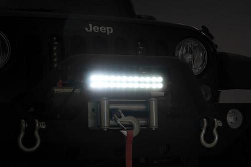 12-inch Cree LED Light Bar - Dual Row | Black Series)