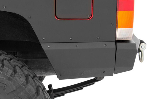 Jeep Rear Lower Quarter Panel Armor for Trimmed Fender Flares 84-96 Cherokee XJ)