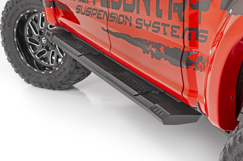 Chevy HD2 Running Boards 2020 GM 1500 | Crew Cab)