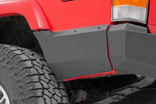 Jeep Rear Lower Quarter Panel Armor for Factory Flare 97-01 Cherokee XJ)