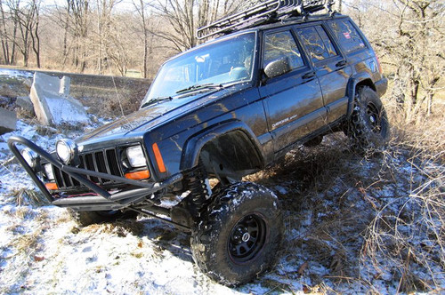 4.5in Jeep X-series Suspension Lift System