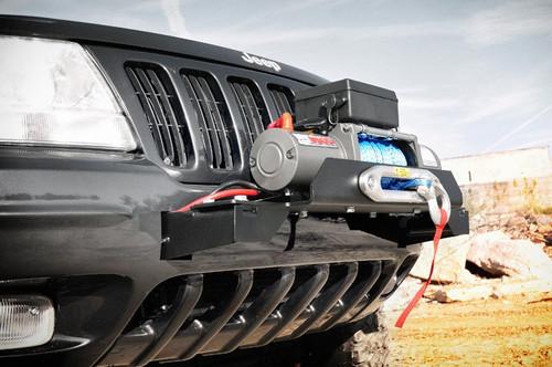 Jeep Winch Mounting Plate 99-04 Grand Cherokee WJ)