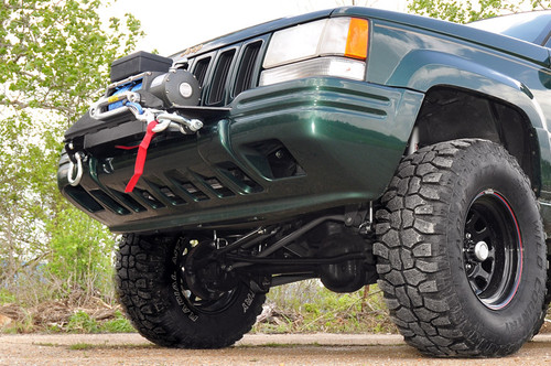Jeep Winch Mounting Plate 93-98 Grand Cherokee ZJ)