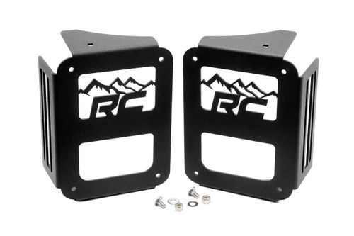 Jeep Tail Light Covers   Mountains 07-18 Wrangler JK)