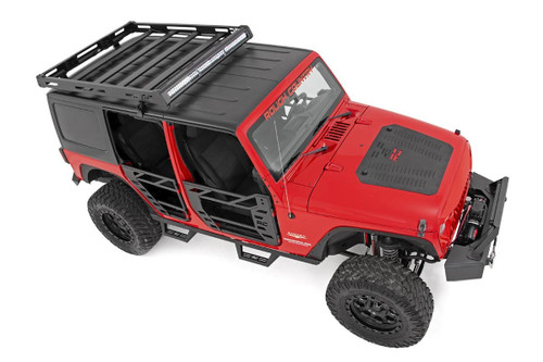 Jeep Front & Rear Steel Tube Doors 07-18 Wrangler JK)