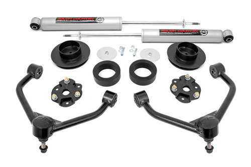 3in Dodge Bolt-On Lift Kit w/ Rear N3 Shocks 12-18 Ram 1500 4WD)