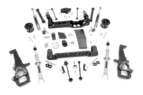 6in Dodge Suspension Lift Kit   N3 Struts & N3 Shocks 12-18 Ram 1500 4WD)