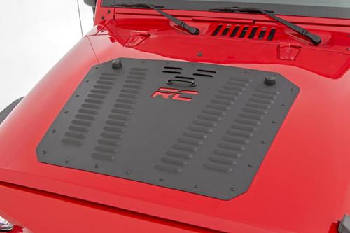 Jeep Powder Coated Hood Louver  07-18 Wrangler JK)