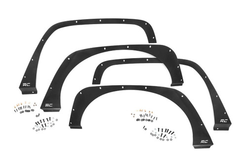 Jeep Front & Rear Fender Delete Kit 07-18 Wrangler JK)