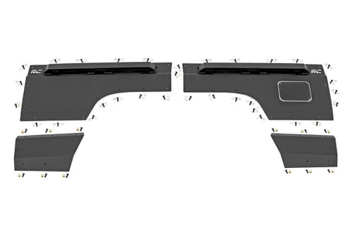 Jeep Rear Upper and Lower Quarter Panel Armor 97-01 Cherokee XJ)