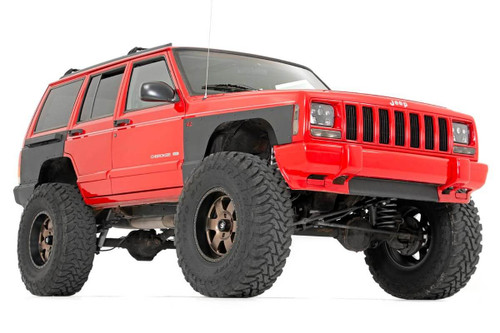 Jeep Front Upper and Lower Quarter Panel Armor 84-96 Cherokee XJ)