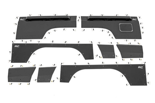Jeep Front & Rear Upper and Lower Quarter Panel Armor - 97-01 Cherokee XJ)