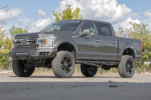 Ford Heavy-Duty Front LED Bumper 18-19 F-150)