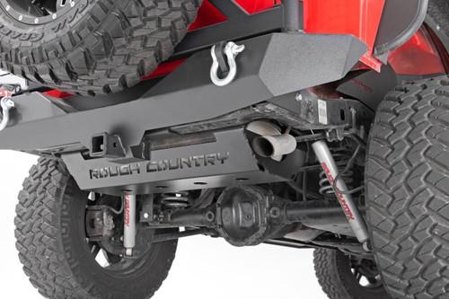 Jeep Muffler Skid Plate 07-18 Wrangler JK)