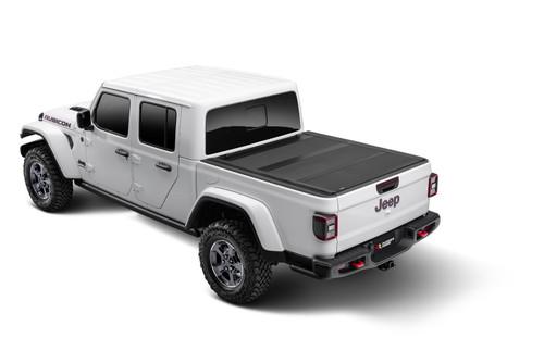Rugged Ridge | Armis Hard Folding With LINE-X Bed Cover, 2020 Jeep Gladiator JT | 13550.24