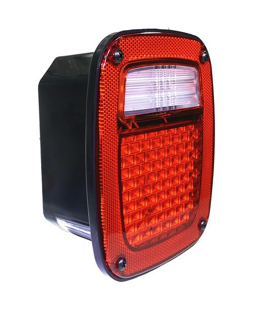 Jeep TJ LED Tail Lights Quake LED