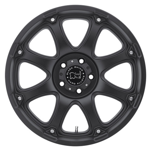 BLACK RHINO GLAMIS 18x9.0 5/127 ET-12 CB78.1 MATTE BLACK