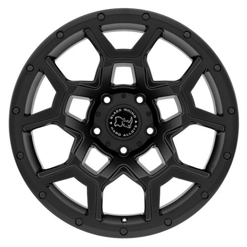 BLACK RHINO OVERLAND 17x9.5 5/127 ET-18 CB71.6 MATTE BLACK