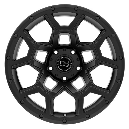 BLACK RHINO OVERLAND 20x9.5 5/127 ET-18 CB71.6 MATTE BLACK