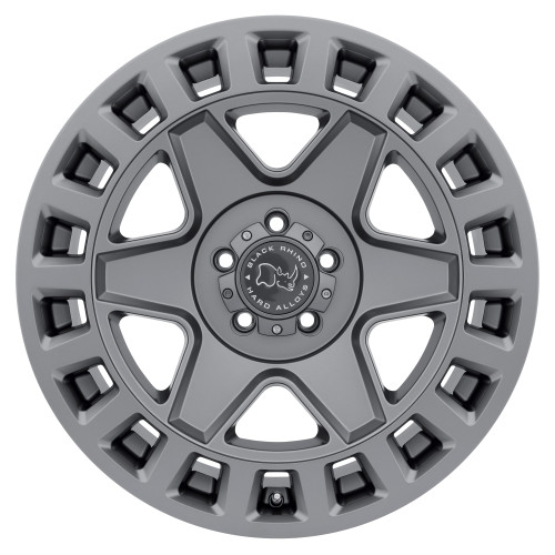 BLACK RHINO YORK 18x9.0 5/139.7 ET00 CB78.1 MATTE GUNMETAL