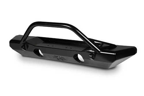 JK Crawler Mid Front Bumper Black Steel 17-52-010DBP1 Poison Spyder