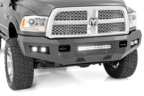 Ram Heavy-Duty Front LED Bumper 10-18 2500/3500)