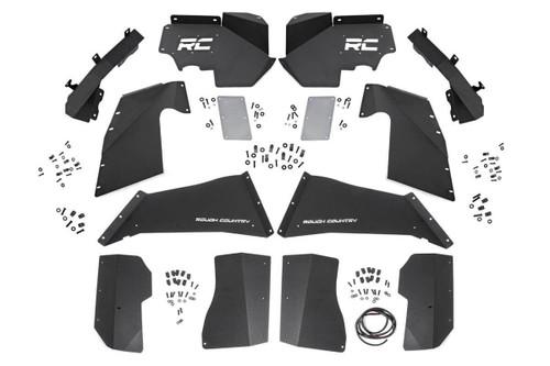 Jeep Front & Rear Inner Fenders Set | Vertex Shocks 07-18 Wrangler JK)