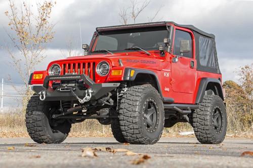 Jeep Full Width Front LED Winch Bumper 87-06 Wrangler YJ/TJ)