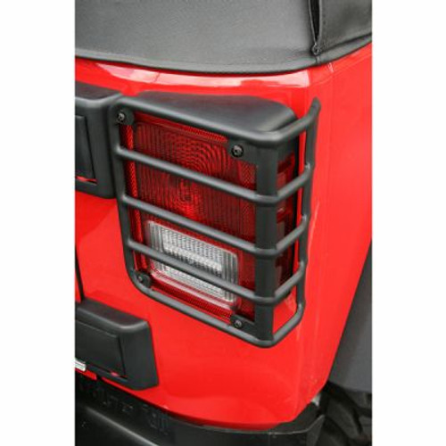 Rugged Ridge - 11226.02 - Tail Light Euro Guards, Black, 07-18 Jeep Wrangler MISSING HARDWARE)
