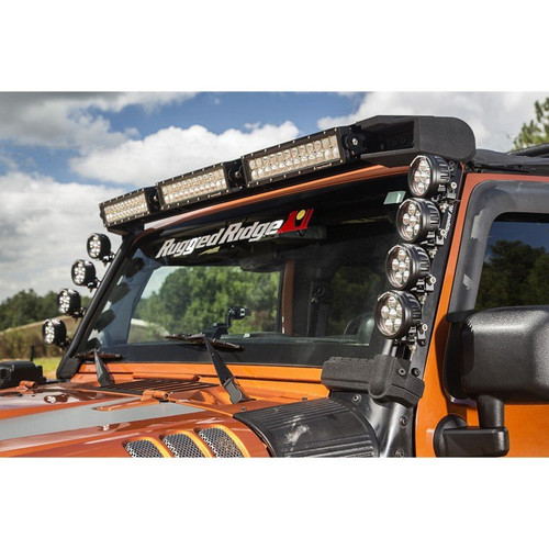 Rugged Ridge Elite Fast Track Modular LED Bar Mount- Garage Sale Item