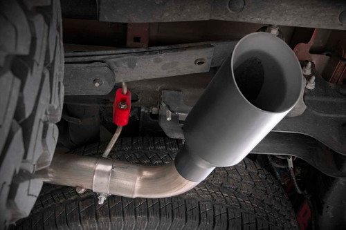 Dual Cat-Back Exhaust System w/ Black Tips (14-18 GM 1500)