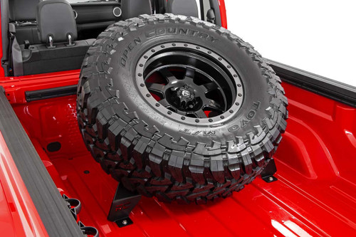 JEEP GLADIATOR BED MOUNTED TIRE CARRIER -ROUGH COUNTRY