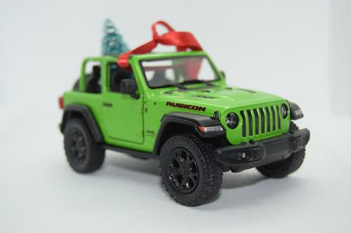 Jeep Rubicon Green Wrangler JL Green Ornament